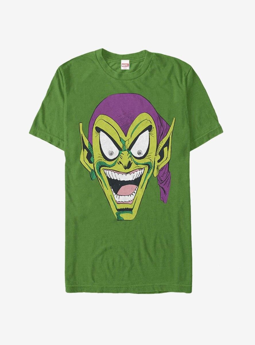 Marvel Green Goblin Laugh T-Shirt