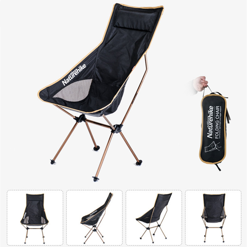 NaturehikeNH17Y010-L Aluminum Folding Chair Max Load 100KG