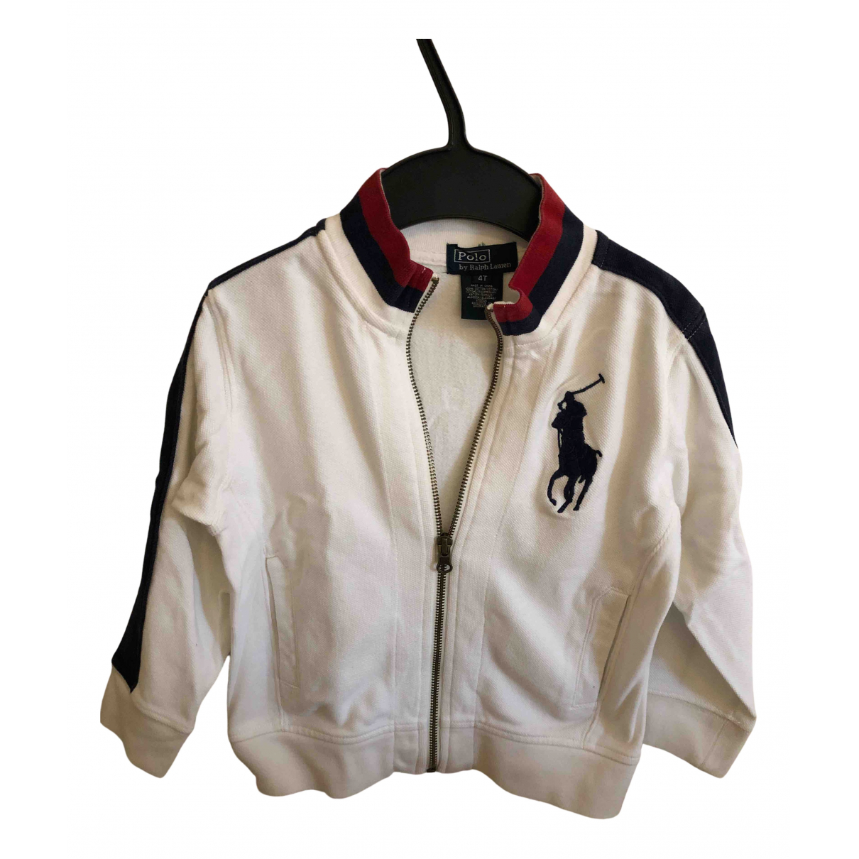 Polo Ralph Lauren N White Cotton jacket & coat for Kids 4 years - up to 102cm FR