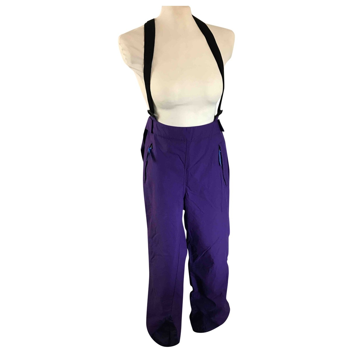 Patagonia \N Purple Trousers for Women 12 UK