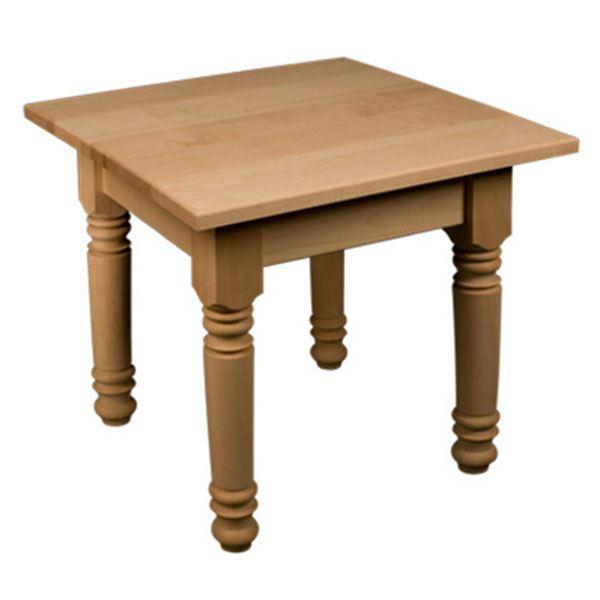 Red Oak Farm Style End Table Kit, Model 50021O