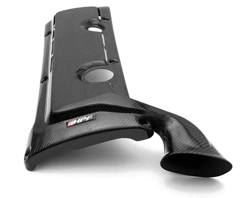 HorsepowerFreaks HPF HPF-E46-ENGCOVRAM Vented Carbon Fiber Engine Cover w/ Ram Horn BMW E46 M3 01-06