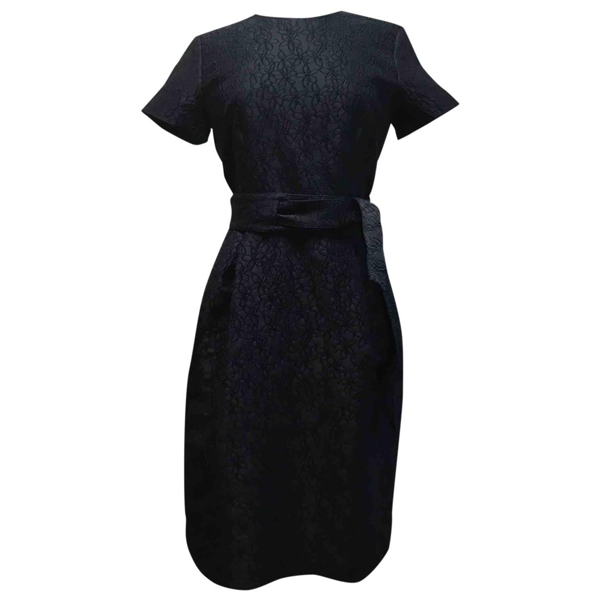 Carolina Herrera \N Kleid in  Blau Baumwolle
