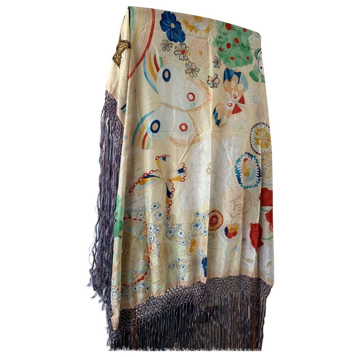 Moschino \N Multicolour Silk scarf for Women \N