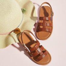 Toddler Girls Gladiator Slingback Sandals