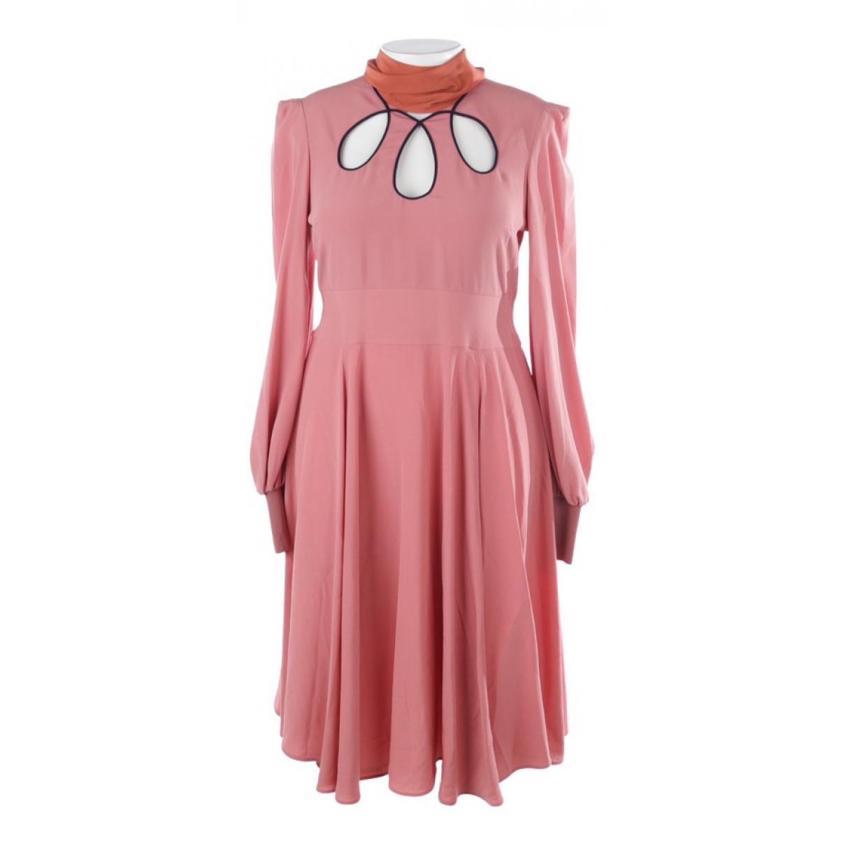 Roksanda - Robe   pour femme en soie - rose