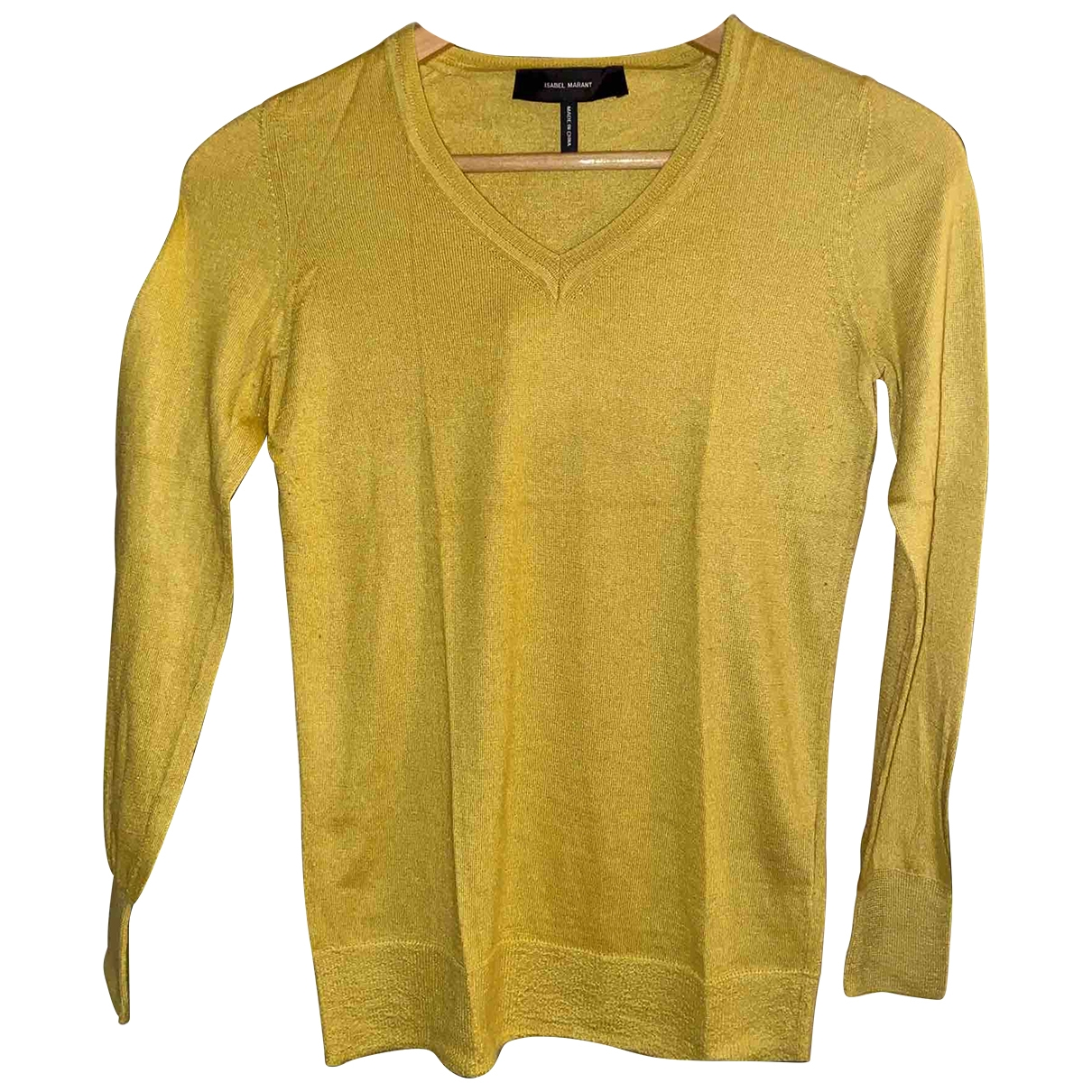 Isabel Marant \N Yellow Cashmere Knitwear for Women 38 FR