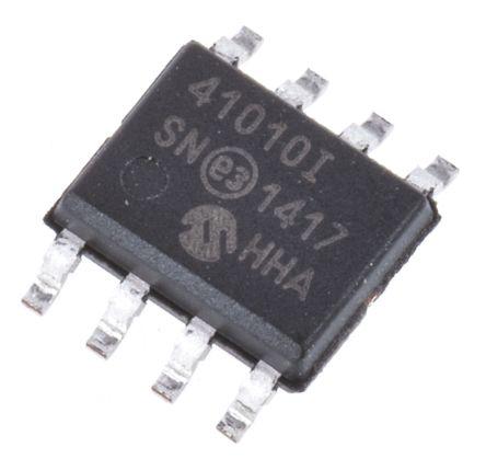 Microchip MCP41010-I/SN, Digital Potentiometer 10kΩ 256-Position Linear Serial-SPI 8 Pin, SOIC (5)