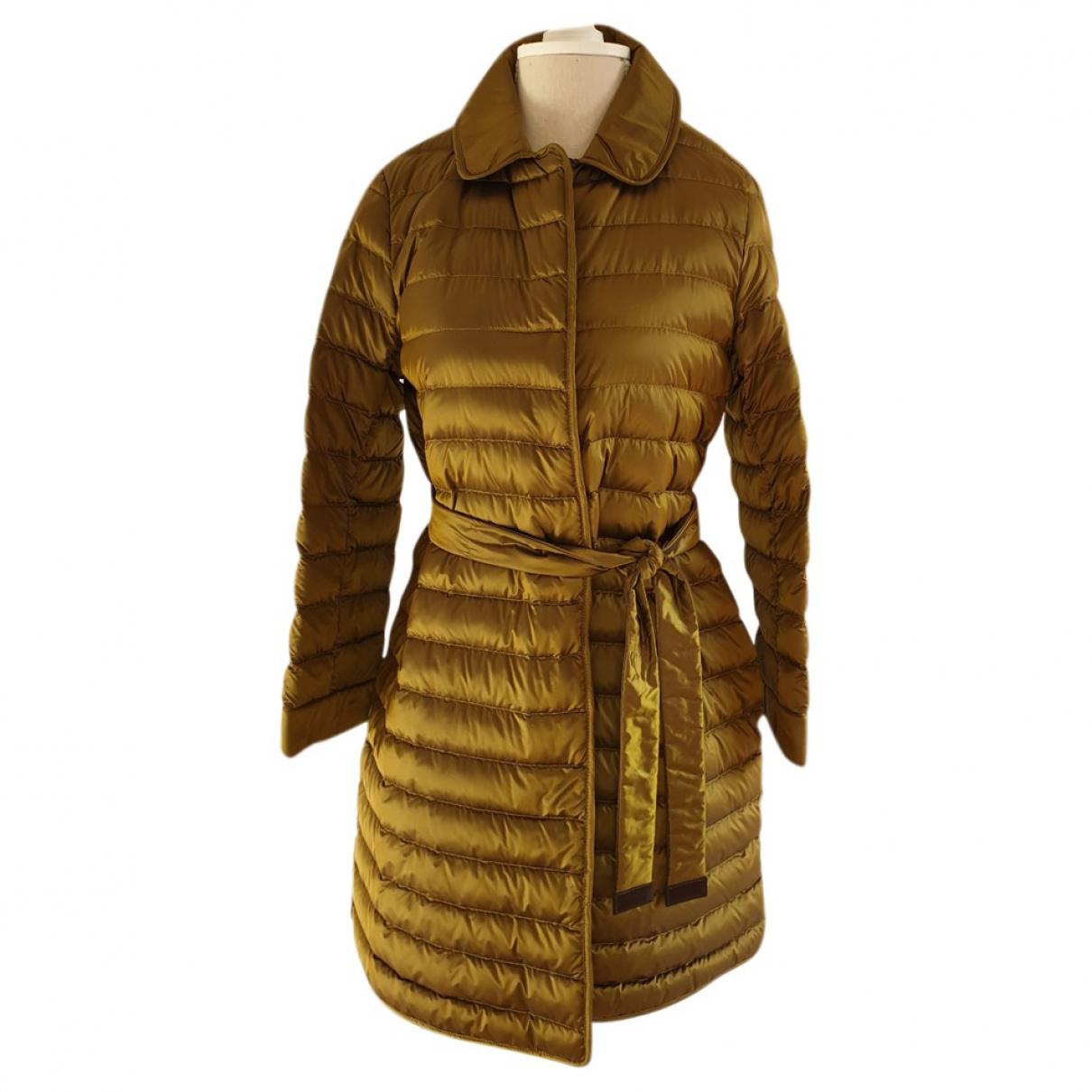 Max Mara \N Khaki coat for Women 38 FR