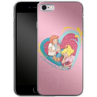 Apple iPhone 6s Silikon Handyhuelle - Bibi und Tina Schmusekaetzchen von Bibi & Tina