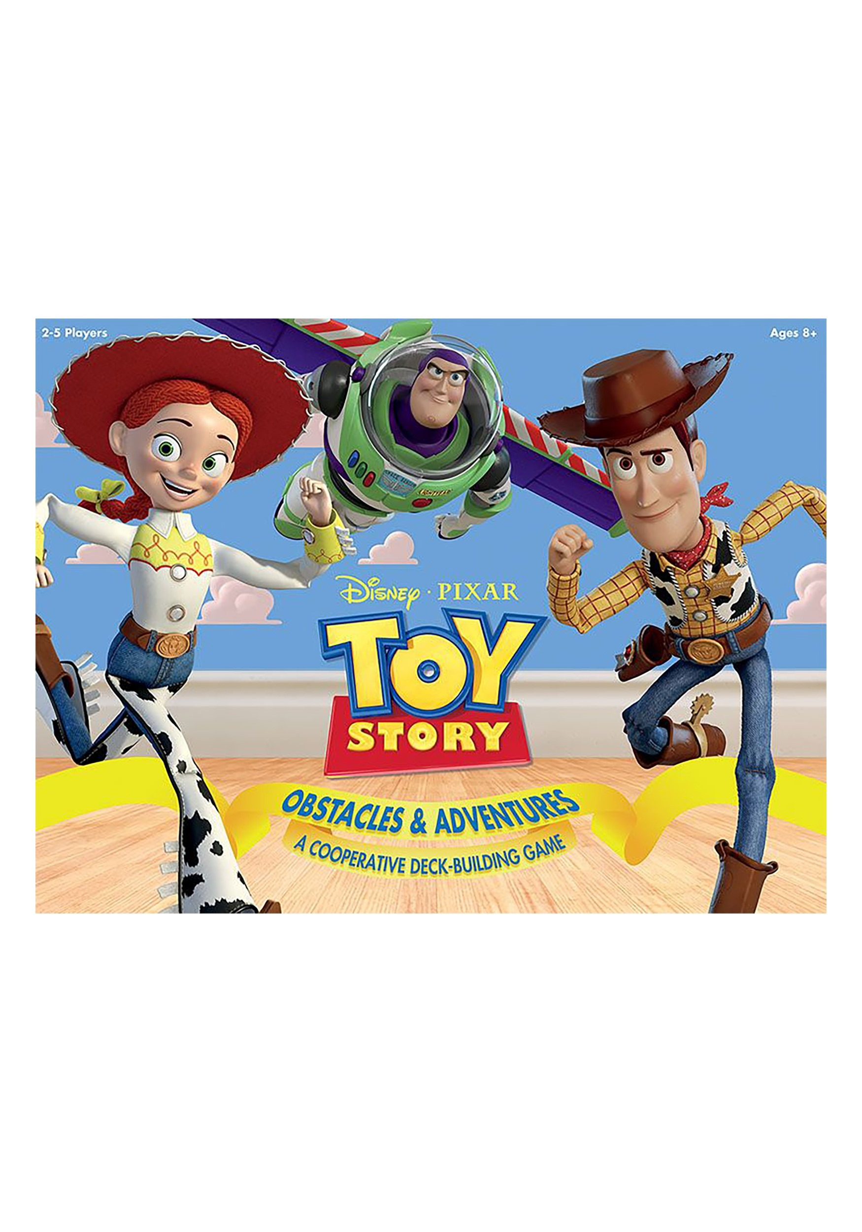 Toy Story Cooperative Deck Building Battle Box Game