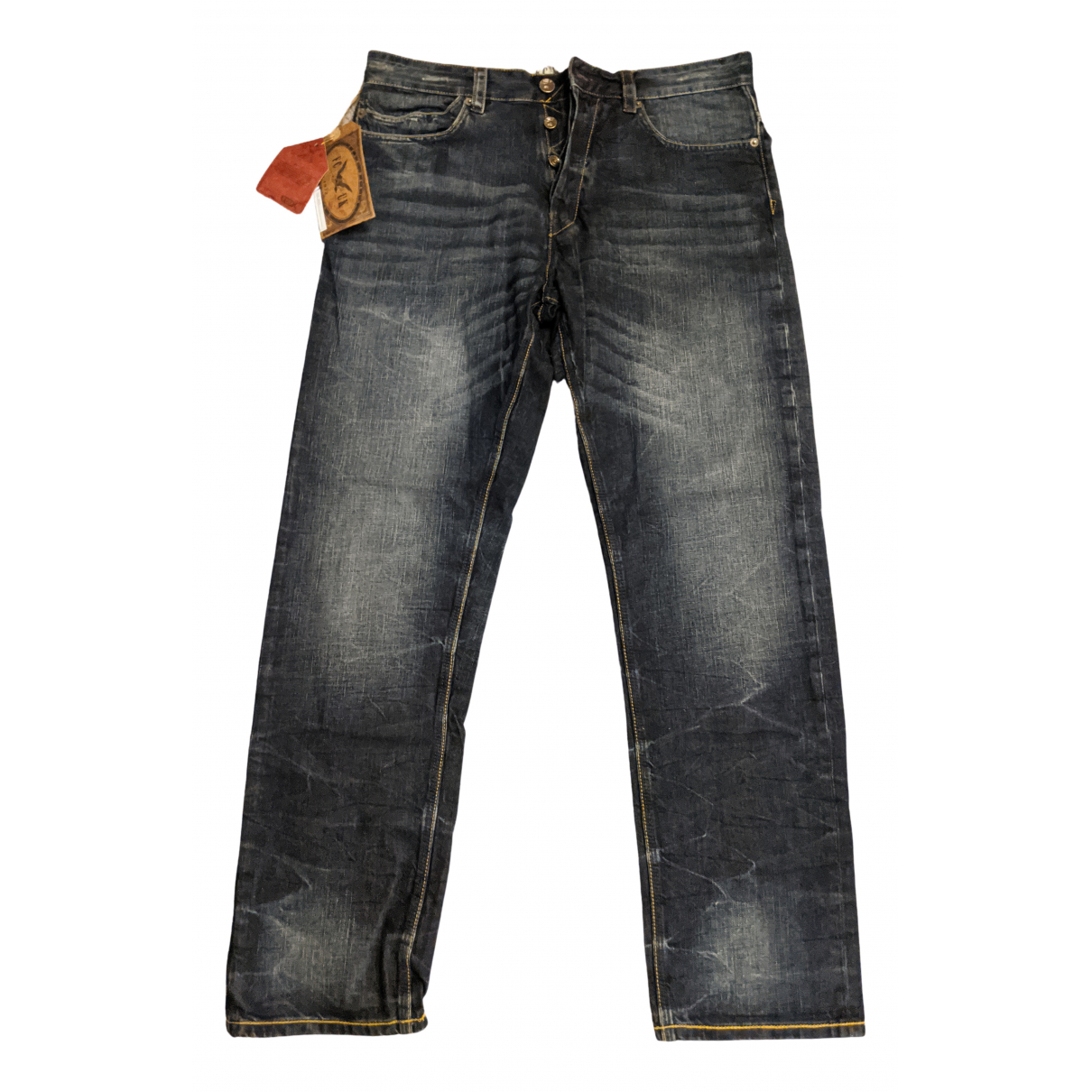 French Connection \N Blue Cotton Jeans for Men 32 US