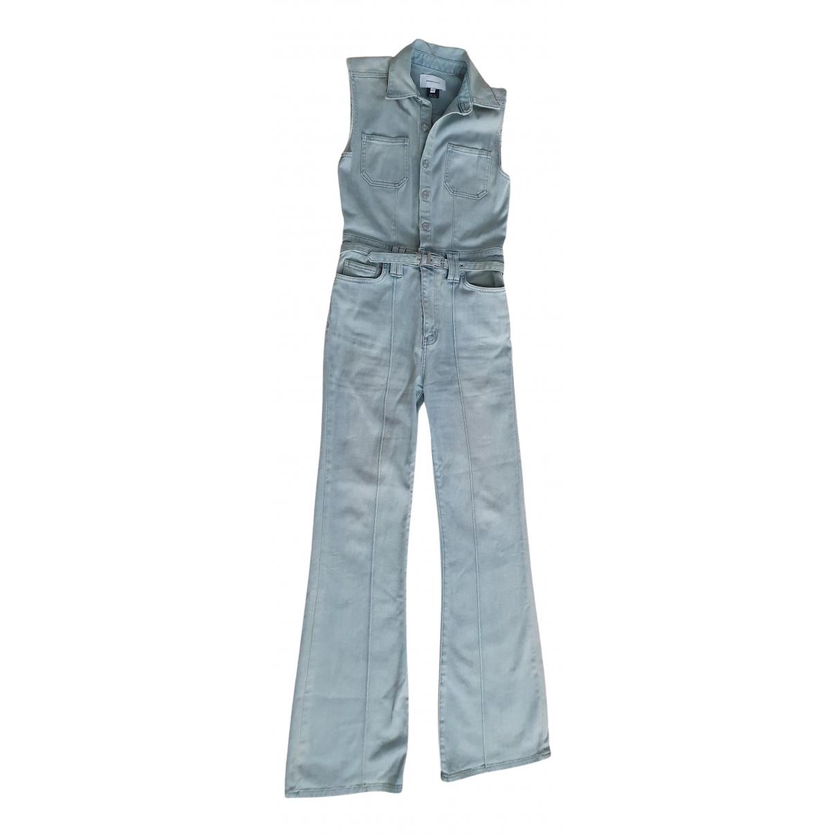 Current Elliott - Combinaison   pour femme en denim - bleu