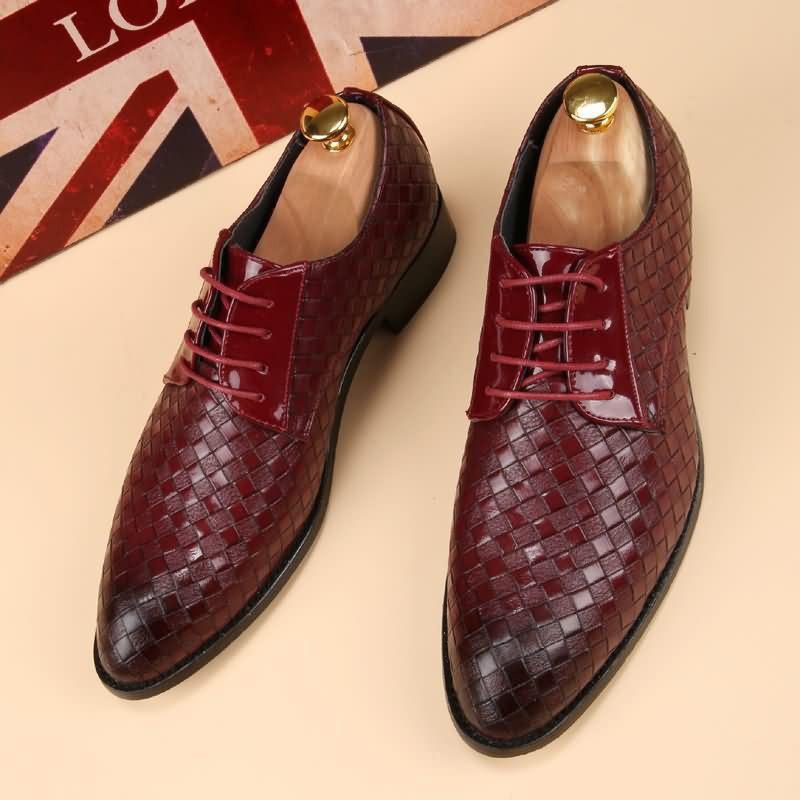 Ericdress Plain Round Toe Lace-Up Men's Shoes