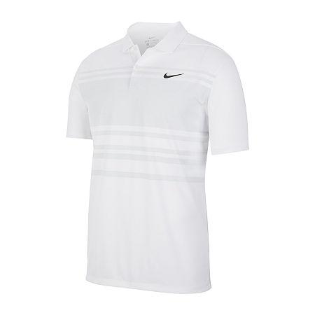 Nike Golf Mens Short Sleeve Polo Shirt, Small , White