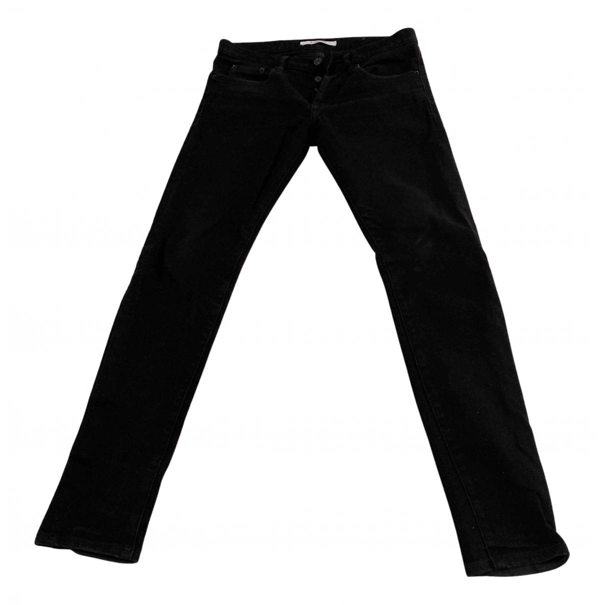 Givenchy N Black Denim - Jeans Trousers for Men 44 FR