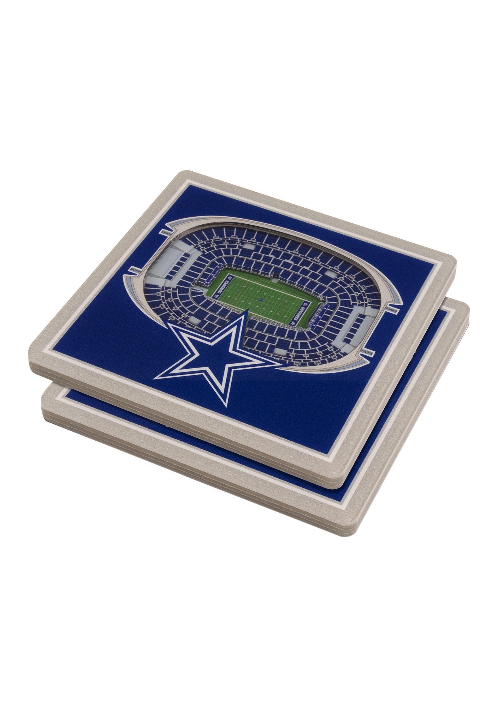 3D Dallas Cowboys Stadium Coasters