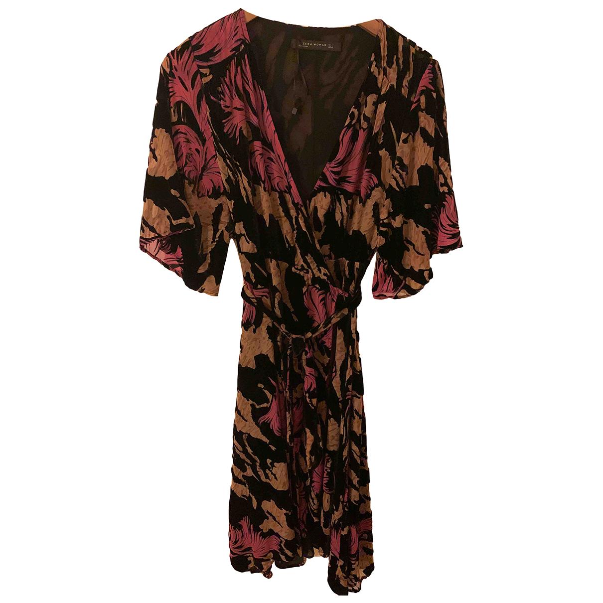 Zara N Multicolour Velvet dress for Women S International