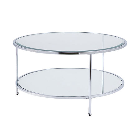Thurbol Coffee Table, One Size , Silver