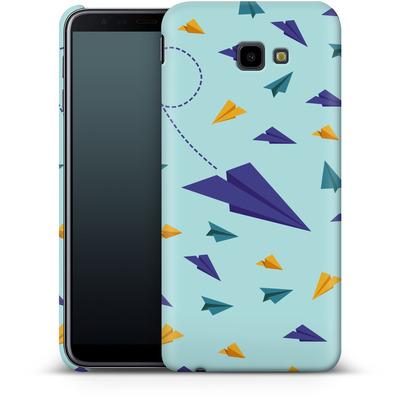 Samsung Galaxy J4 Plus Smartphone Huelle - Paper Planes von caseable Designs