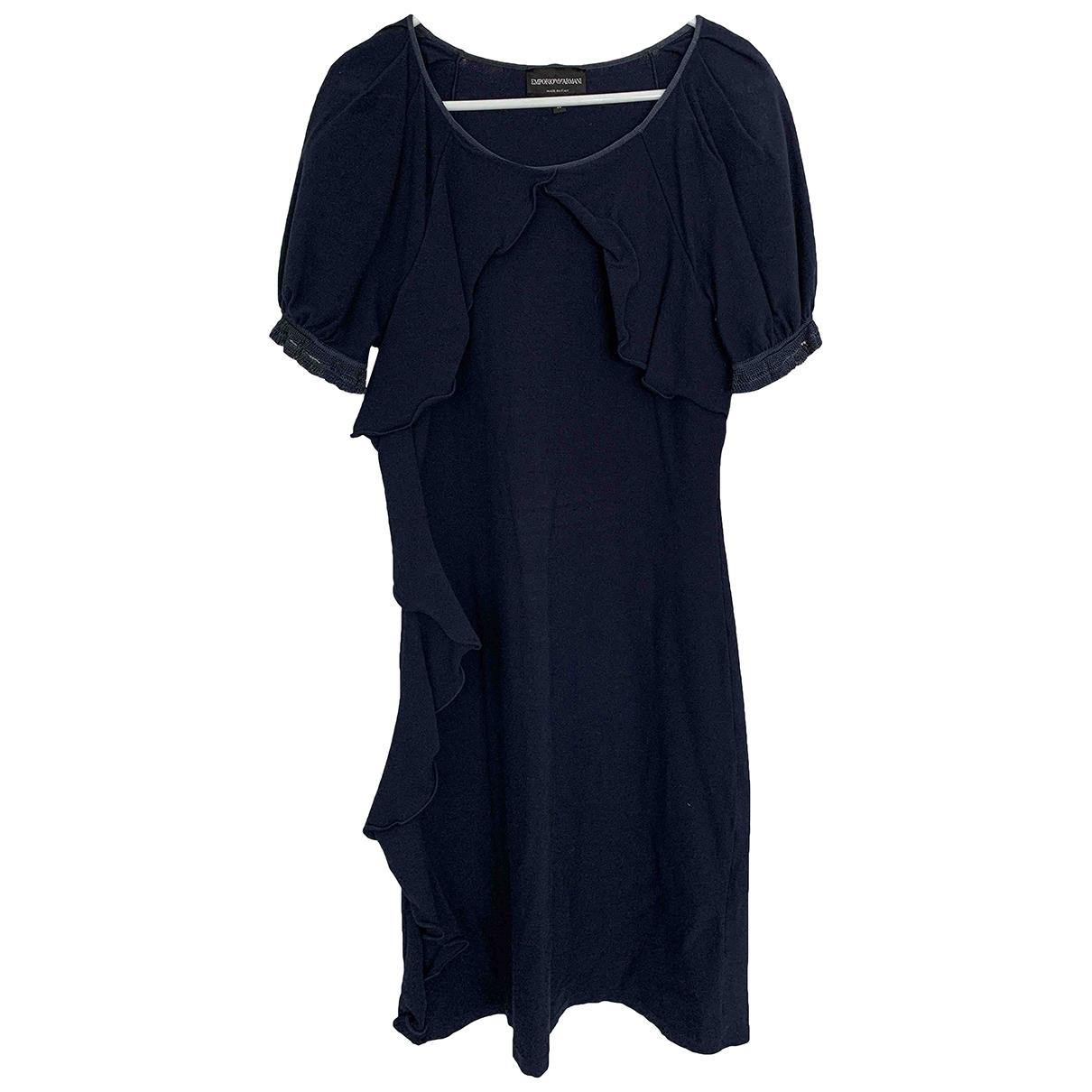 Emporio Armani \N Blue dress for Women 44 IT