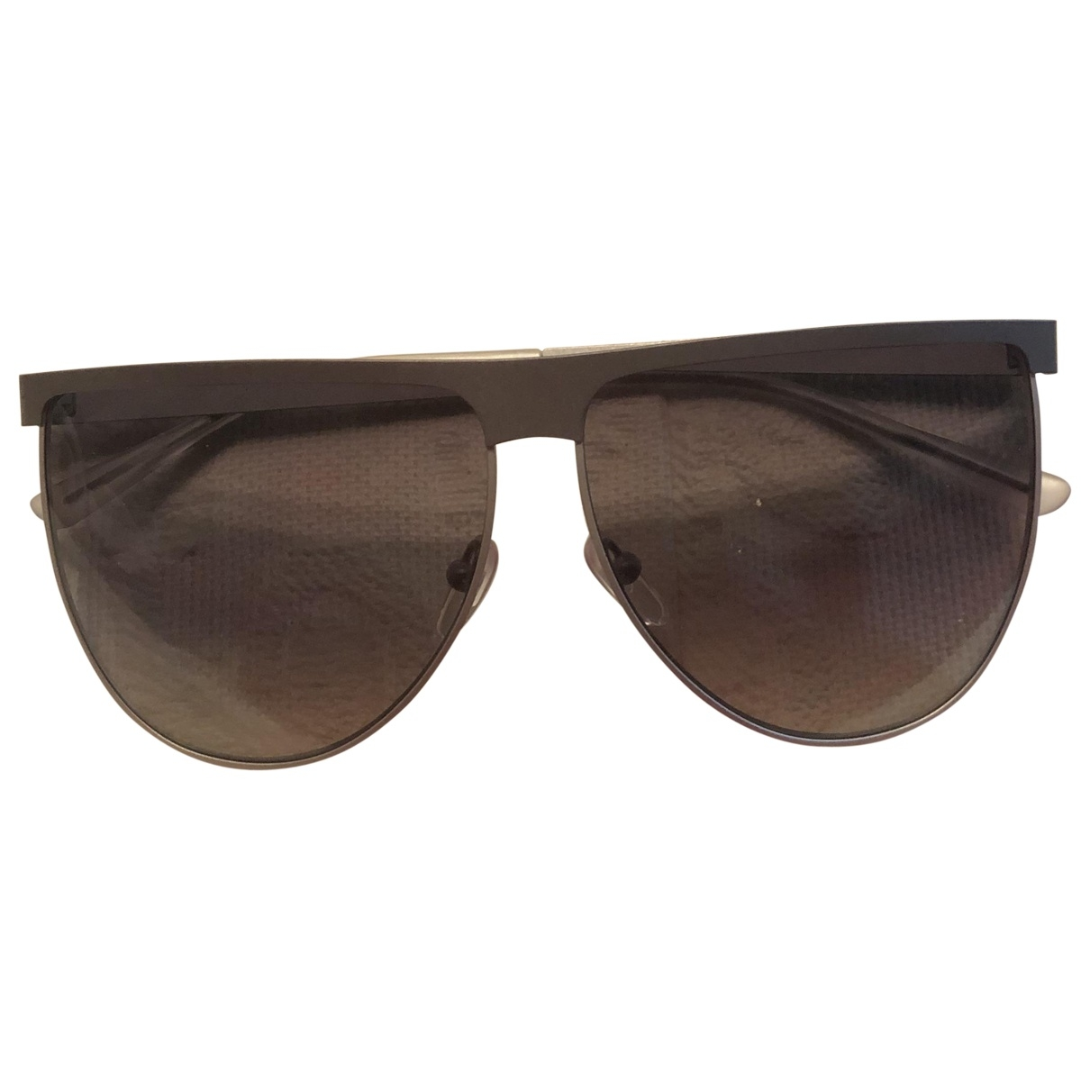 Byblos \N Grey Metal Sunglasses for Women \N