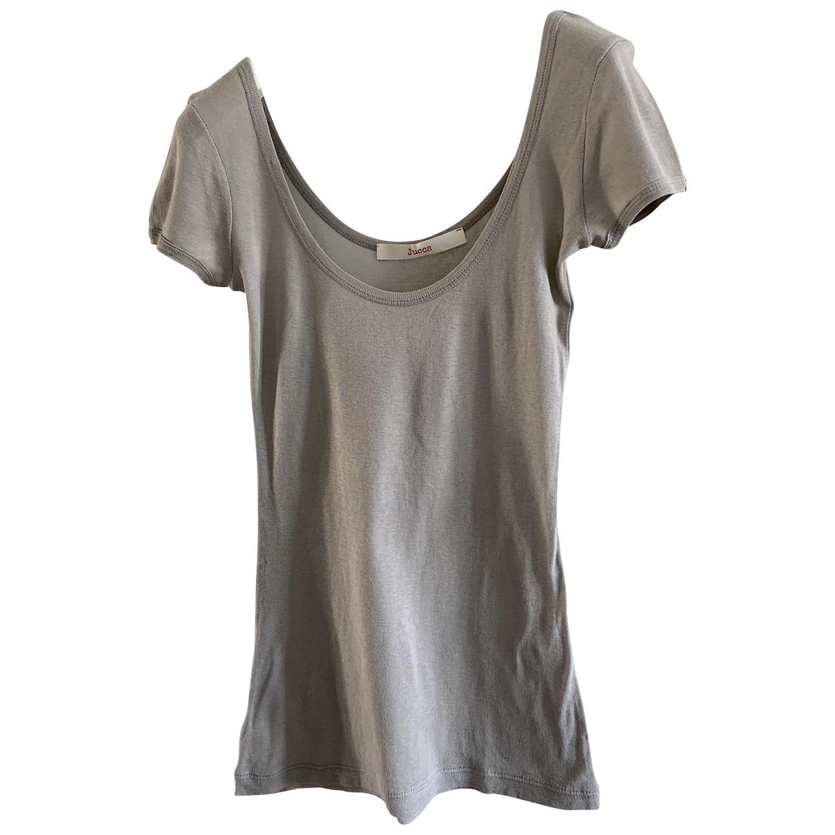 Jucca \N Beige Cotton  top for Women S International