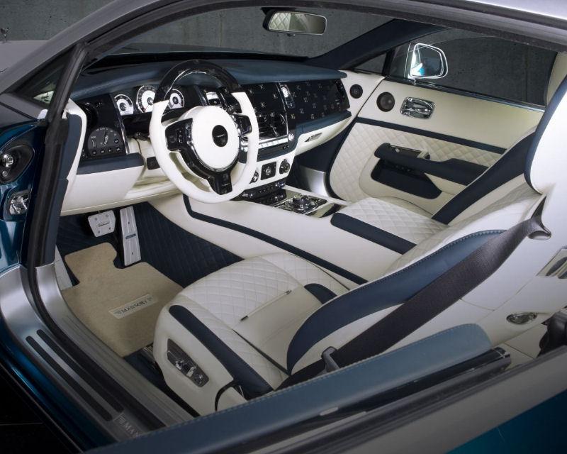 Mansory RRW 367 758 4 Part Floor Mats Rolls Royce Wraith