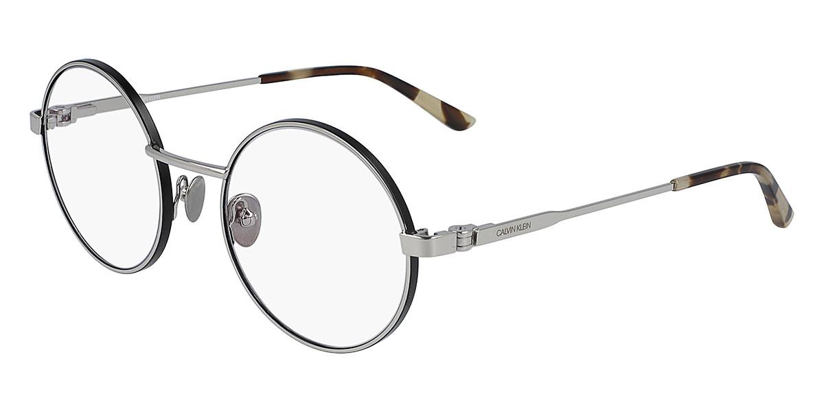 Calvin Klein CK19114 045 Men's Glasses Silver Size 51 - Free Lenses - HSA/FSA Insurance - Blue Light Block Available