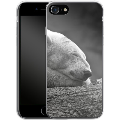 Apple iPhone 8 Silikon Handyhuelle - Polar Bear von caseable Designs