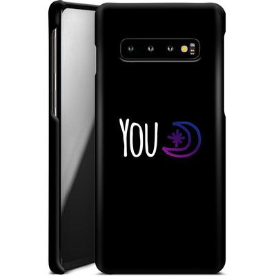 Samsung Galaxy S10 Smartphone Huelle - You Moon von caseable Designs