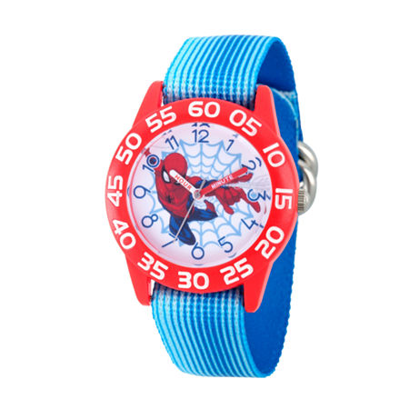 Marvel Marvel Boys Blue Strap Watch-Wma000178, One Size , No Color Family