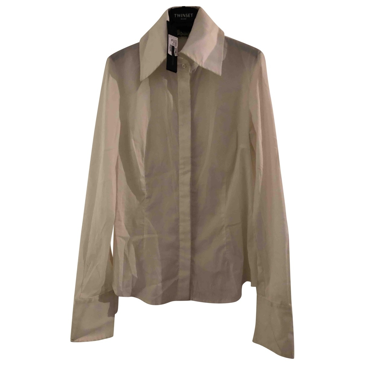 Non Signe / Unsigned \N Top in  Beige Baumwolle