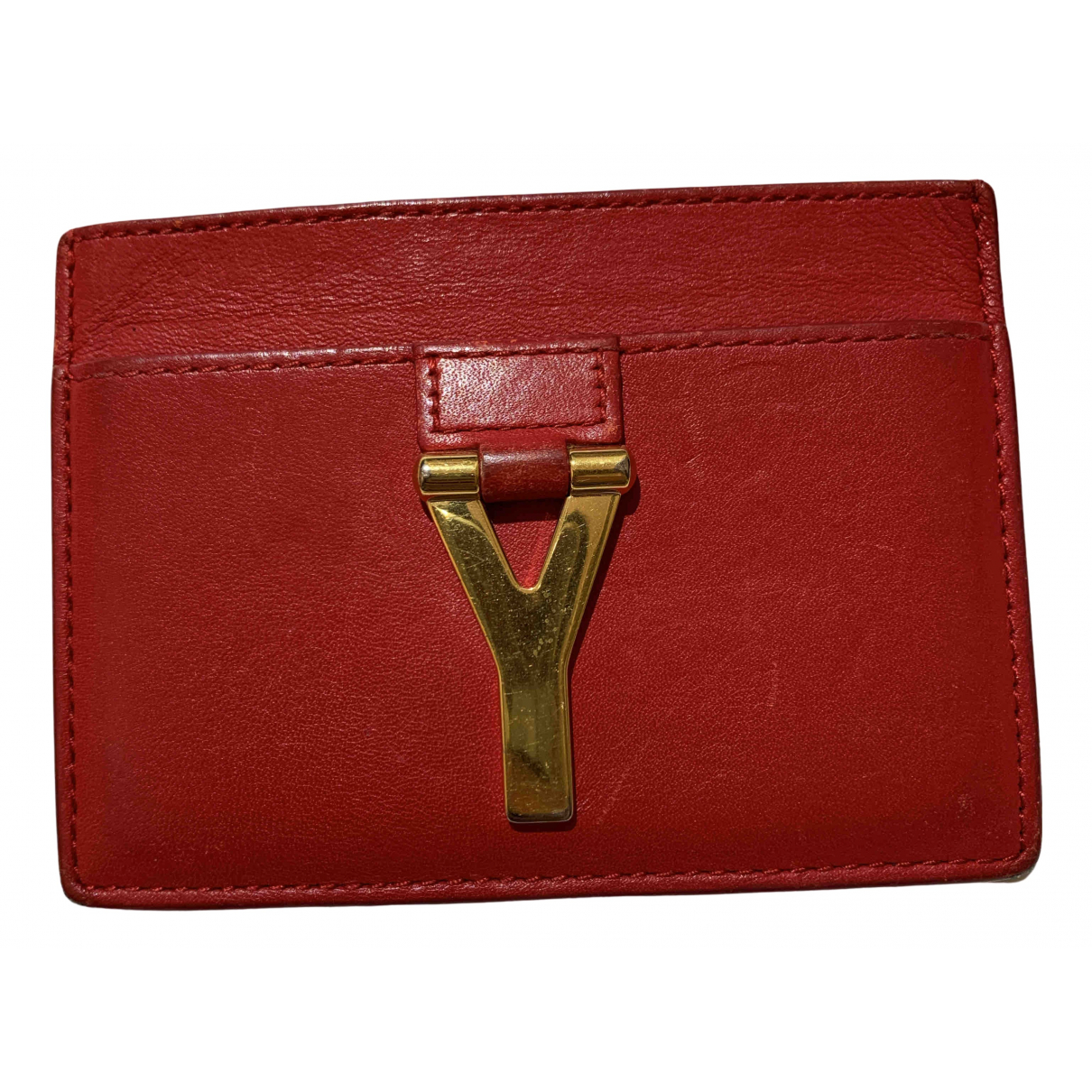 Yves Saint Laurent N Red Leather Purses, wallet & cases for Women N