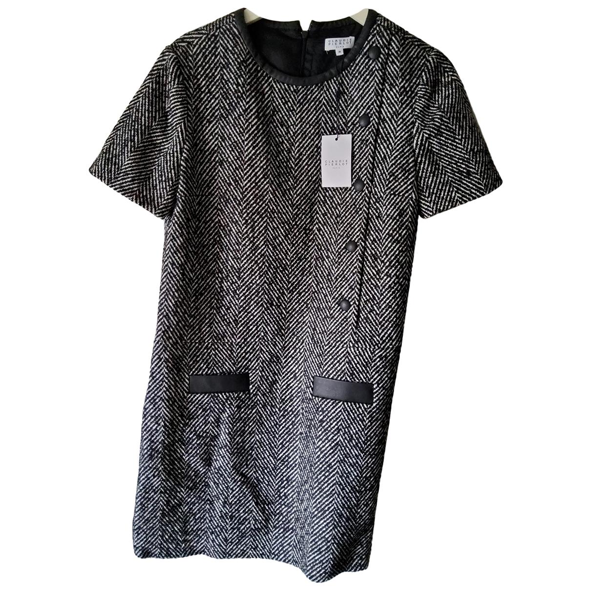 Claudie Pierlot \N Kleid in  Grau Polyester