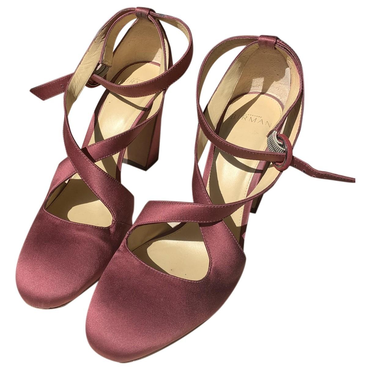 Alexandre Birman - Escarpins   pour femme en toile - violet