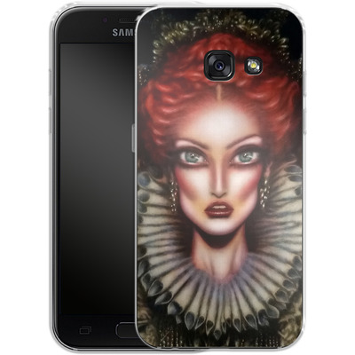 Samsung Galaxy A3 (2017) Silikon Handyhuelle - Queen Elizabeth I von Tiago Azevedo