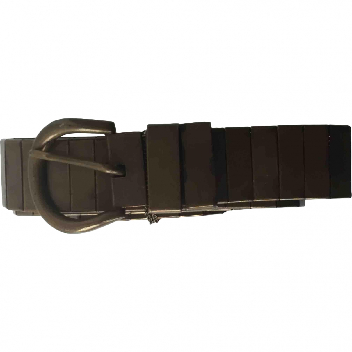 Isabel Marant \N Gold Metal belt for Women 90 cm