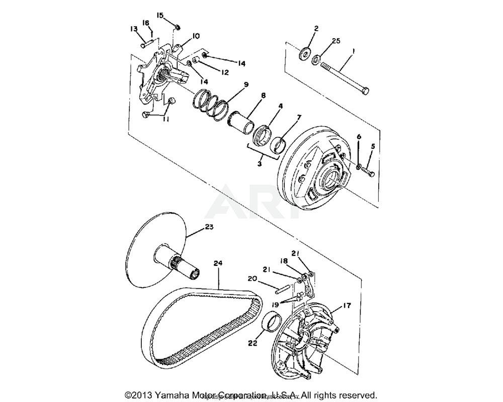 Yamaha OEM 8F2-17653-00-00 SLIDER