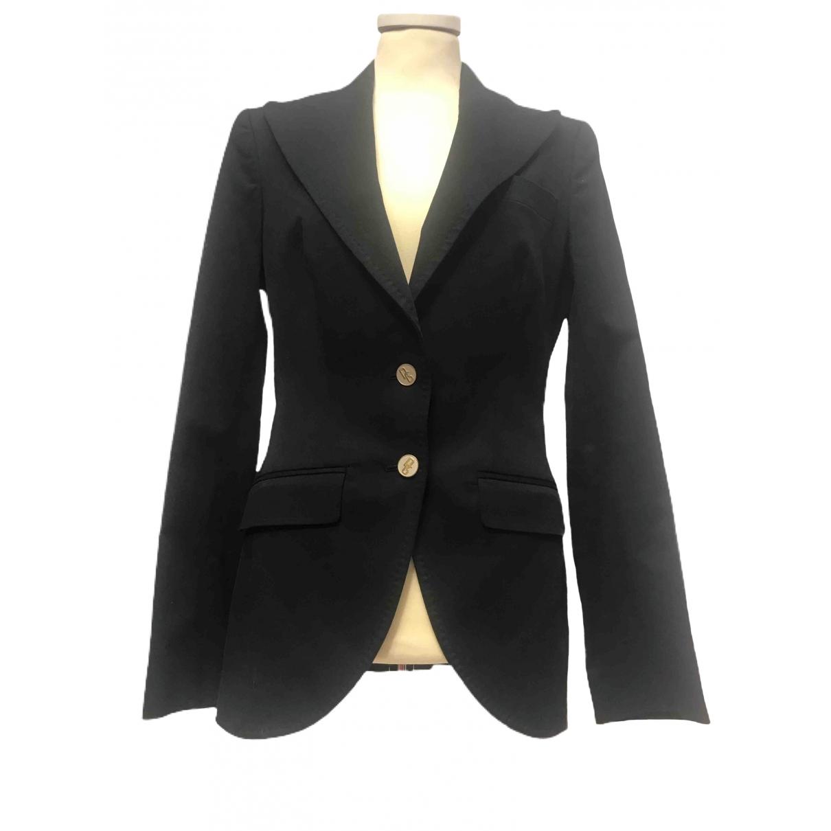 Dolce & Gabbana \N Black Wool jacket for Women 40 IT