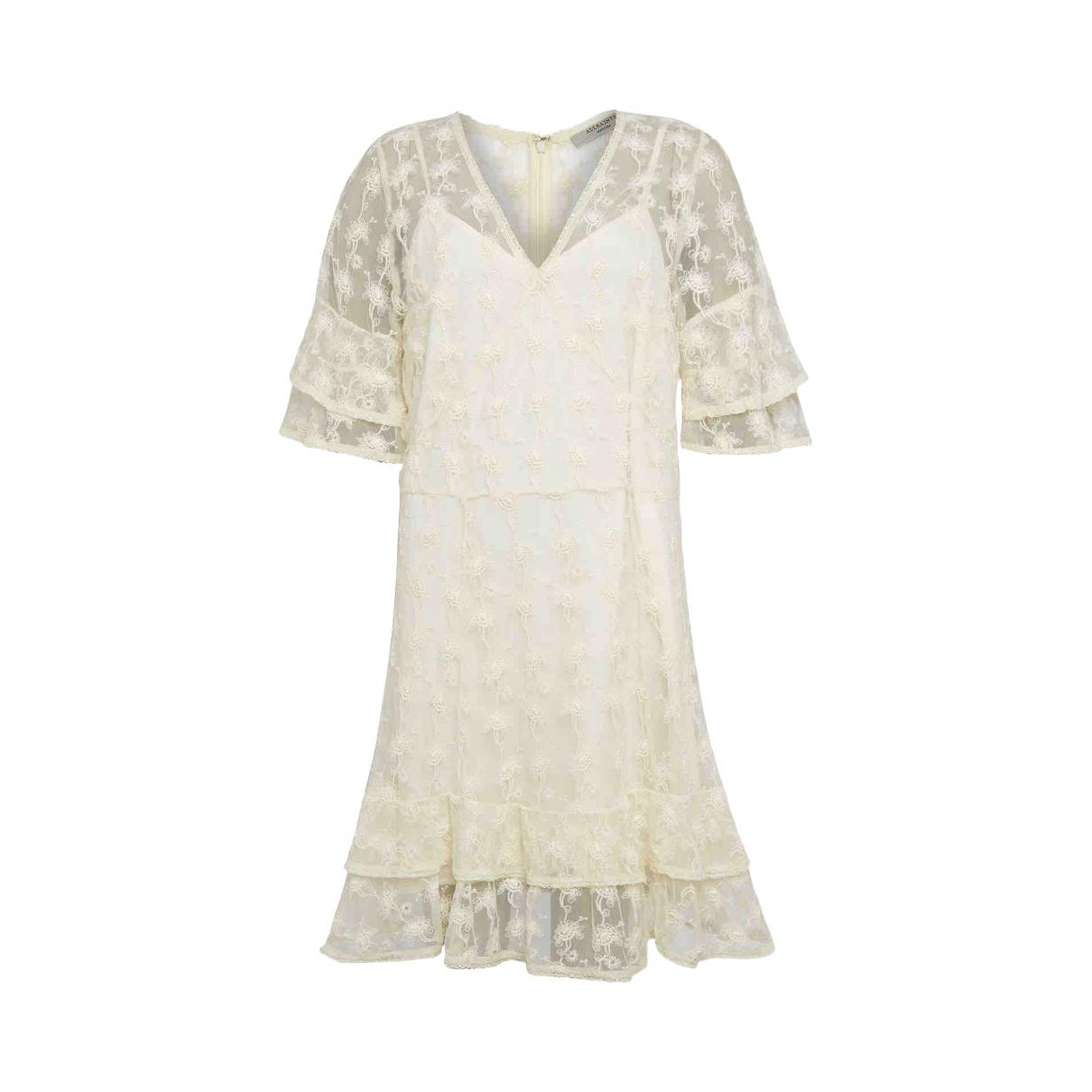 Mini vestido de Encaje All Saints