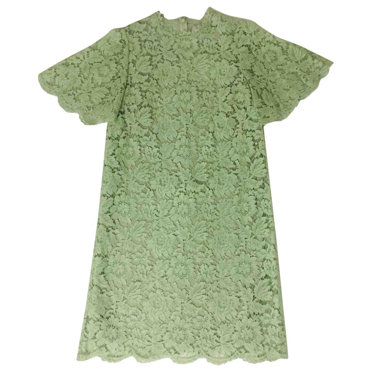 Valentino Garavani - Robe   pour femme en coton - vert