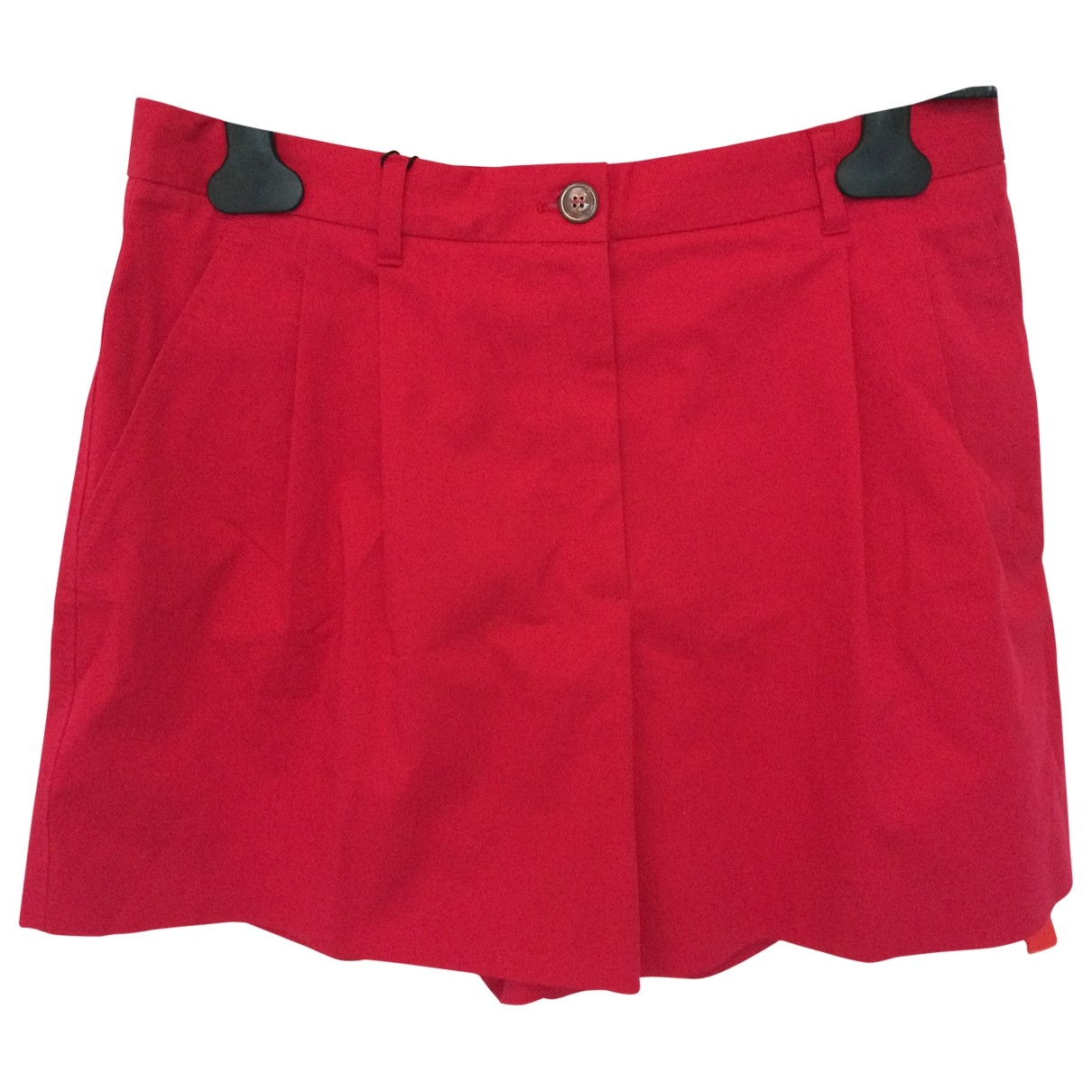 Dolce & Gabbana \N Red Cotton Shorts for Women M International