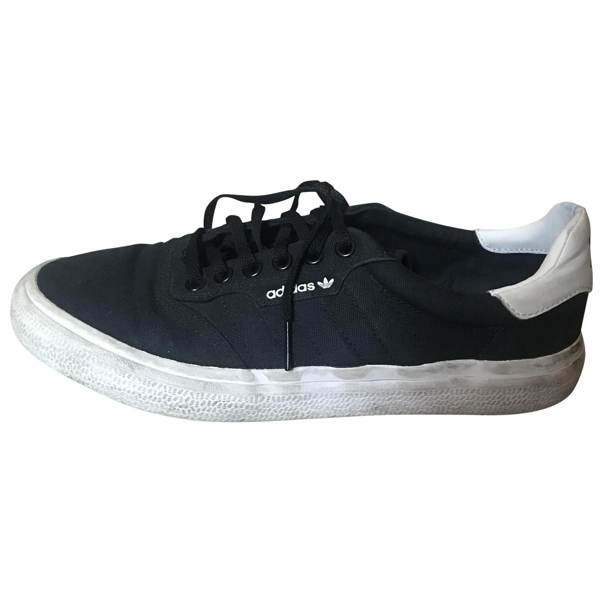 Adidas \N Black Cloth Trainers for Women 41.5 EU