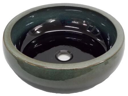 EB_PS03 Aquamarine Ceramic Vessel