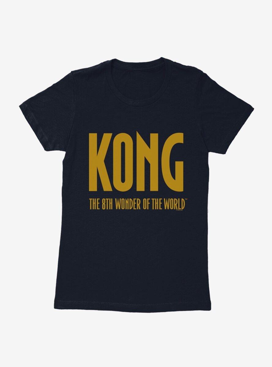 King Kong The Eighth Wonder Logo Womens T-Shirt
