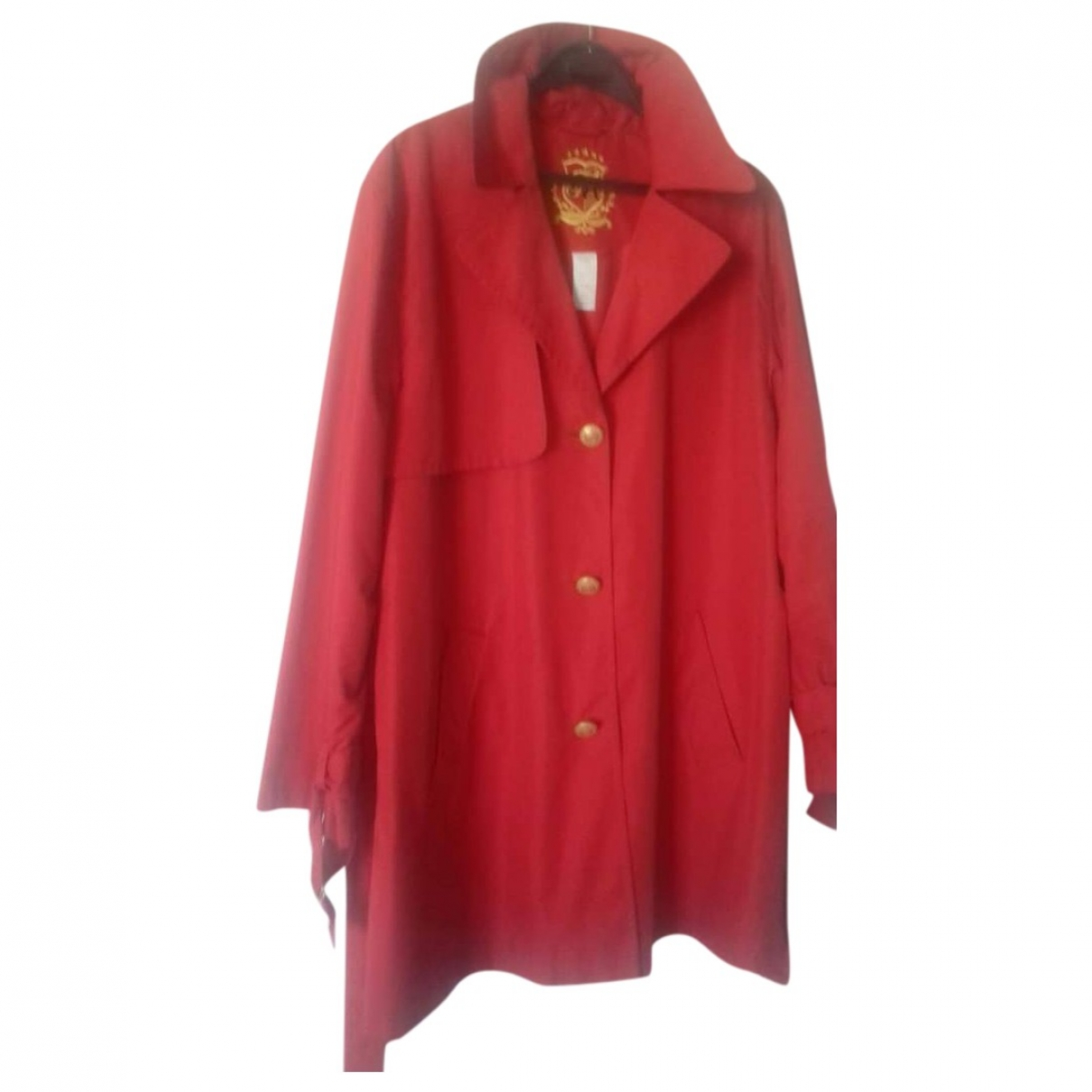 - Trench   pour femme - rouge