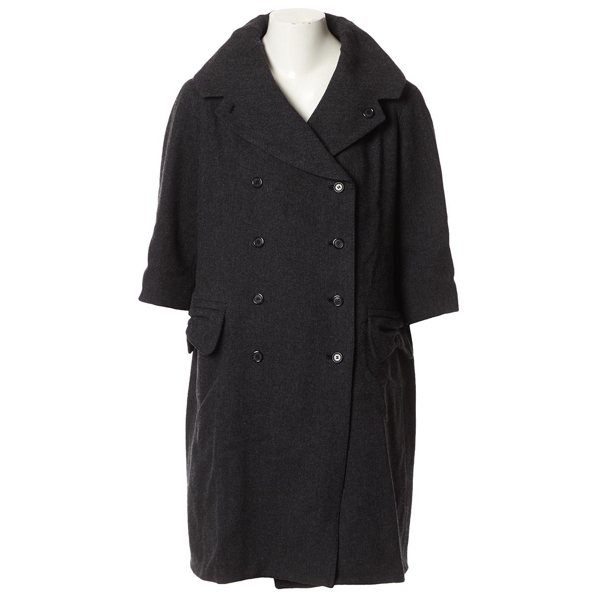 Louis Vuitton - Manteau   pour femme en laine - gris