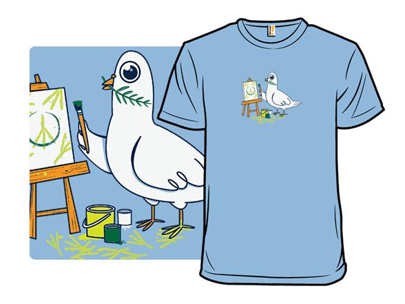 Peace Art T Shirt