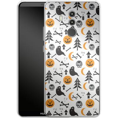Huawei Mate 10 Pro Silikon Handyhuelle - Halloween Mix von caseable Designs